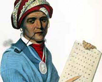 Cherokee Chief Sequoyah