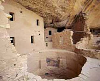 The Anasazi Indians Are Well Known For Their Cliff Pueblos