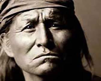 Apache Indian Warrior