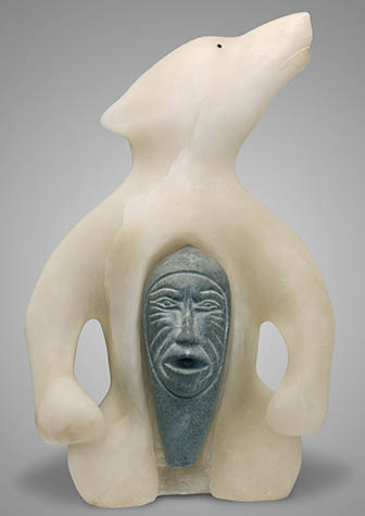 Traditional inuit carvings