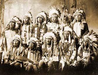 The life of the Lakota Indians
