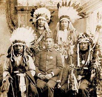 Famous chiefs and leaders of the Sioux Indian Tribe