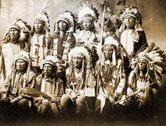 The Sioux tribe and the Dakota conflict