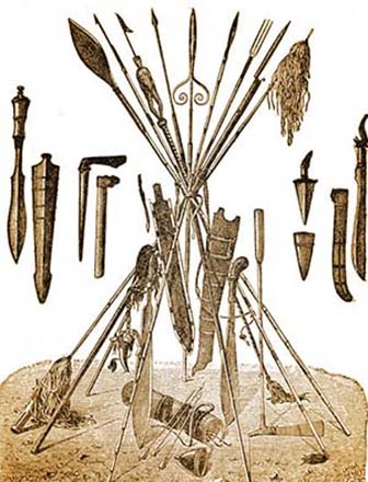 Sioux Weapons and Tools