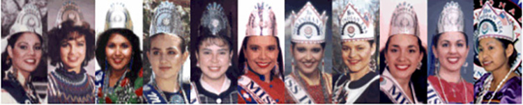 11 Miss Indian USA Scholarship Winners